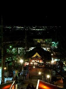 筑波山神社から