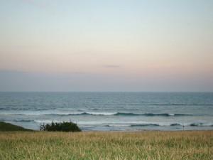 鹿島灘の夕日