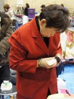 2012 東京インター 関盛さんベビー哺乳中