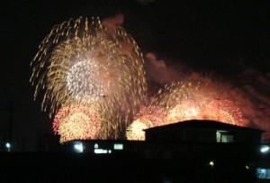 今年の花火大会