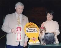 鈴木栄子さんとアマンダ
